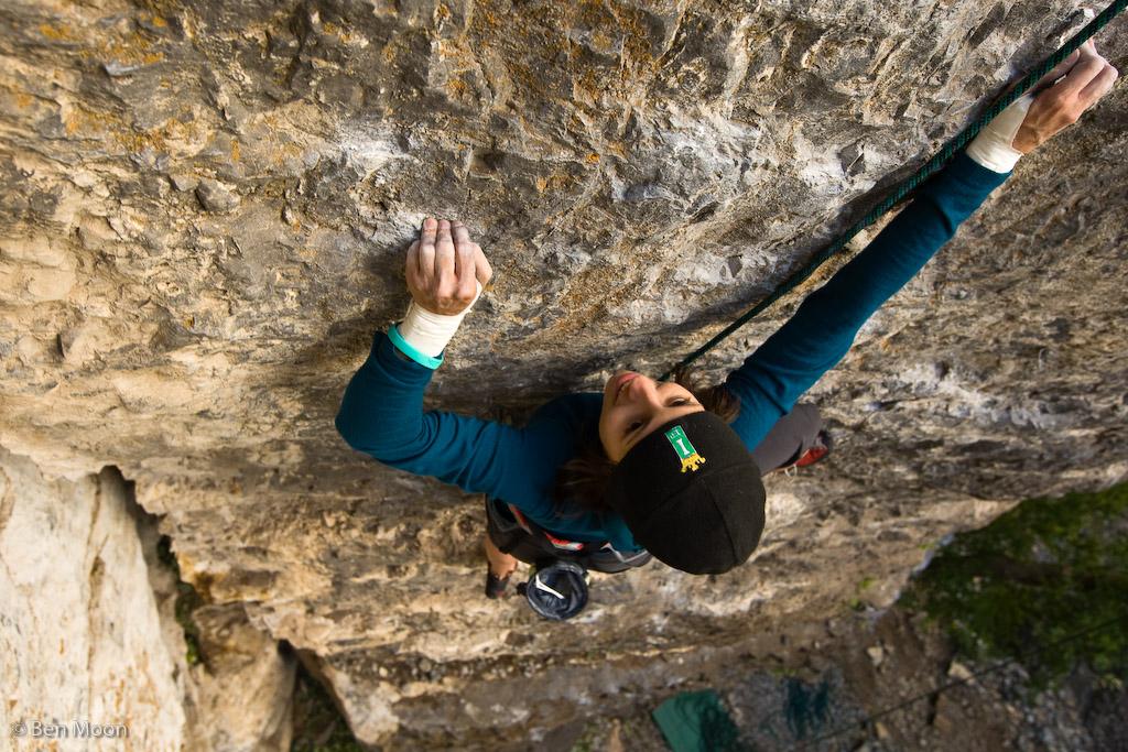 Samantha Lockwood Climbing Photo